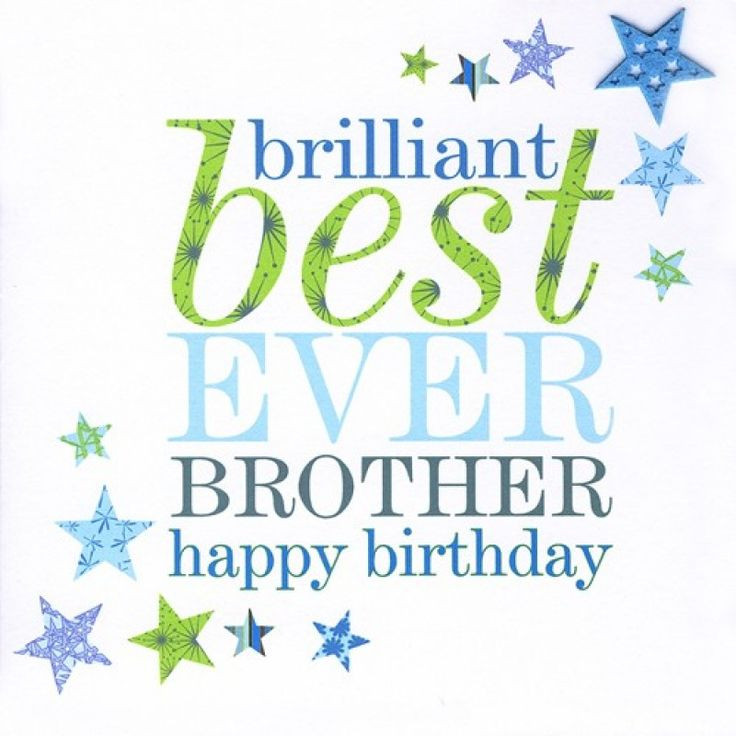 Best ideas about Happy Birthday Wishes For Brother . Save or Pin Happy Birthday Cards for Brother – Bday card for Brother Now.