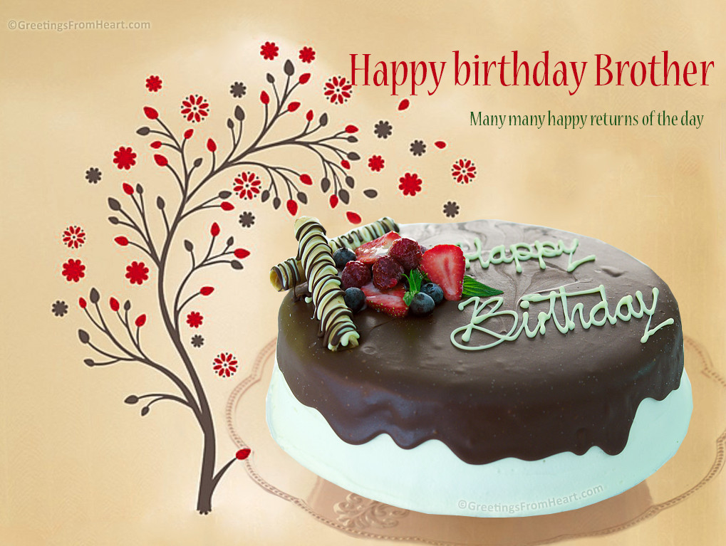 Best ideas about Happy Birthday Wishes For Brother . Save or Pin happy birthday brother Now.