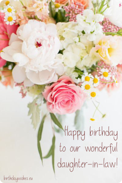 Best ideas about Happy Birthday Wishes For Daughter In Law . Save or Pin Happy Birthday Daughter In Law Now.