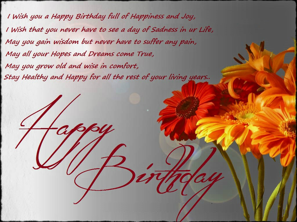 Best ideas about Happy Birthday Wishes For Facebook . Save or Pin Birthday Wishes For Birthday Wishes Now.