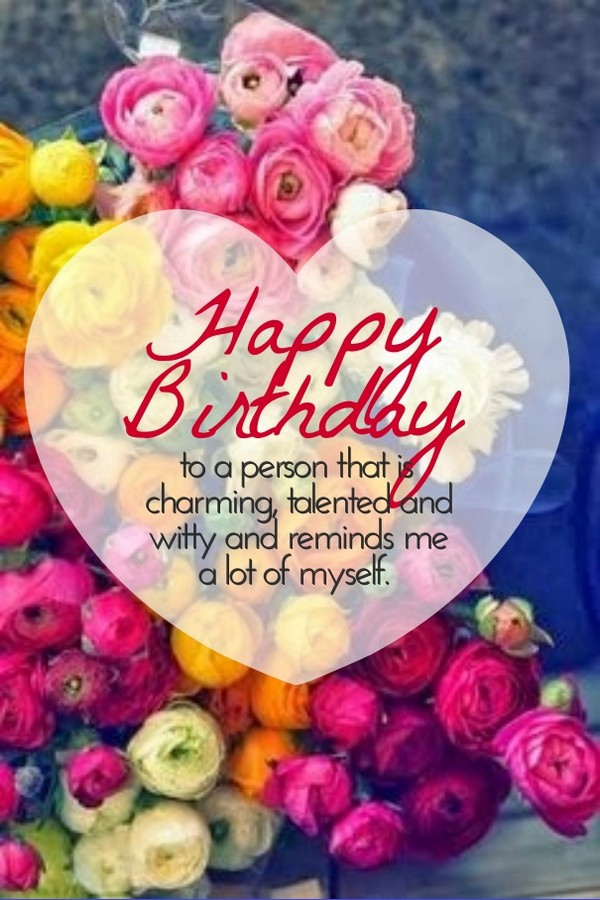 Best ideas about Happy Birthday Wishes For Her . Save or Pin 50 Most Unique Birthday Wishes For You My Happy Birthday Now.