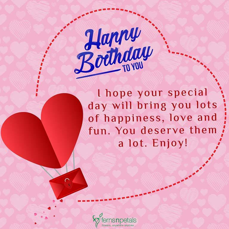 Best ideas about Happy Birthday Wishes For Her . Save or Pin 30 Best Happy Birthday Wishes Quotes & Messages Ferns Now.