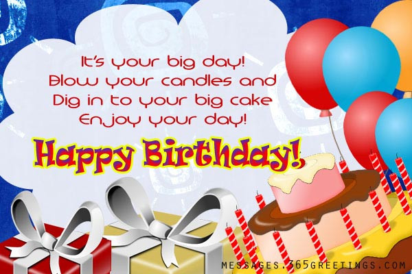 Best ideas about Happy Birthday Wishes For Kids . Save or Pin Birthday Wishes for Kids 365greetings Now.