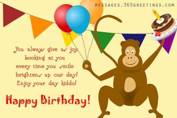 Best ideas about Happy Birthday Wishes For Kids . Save or Pin BIRTHDAY Archives 365greetings Now.