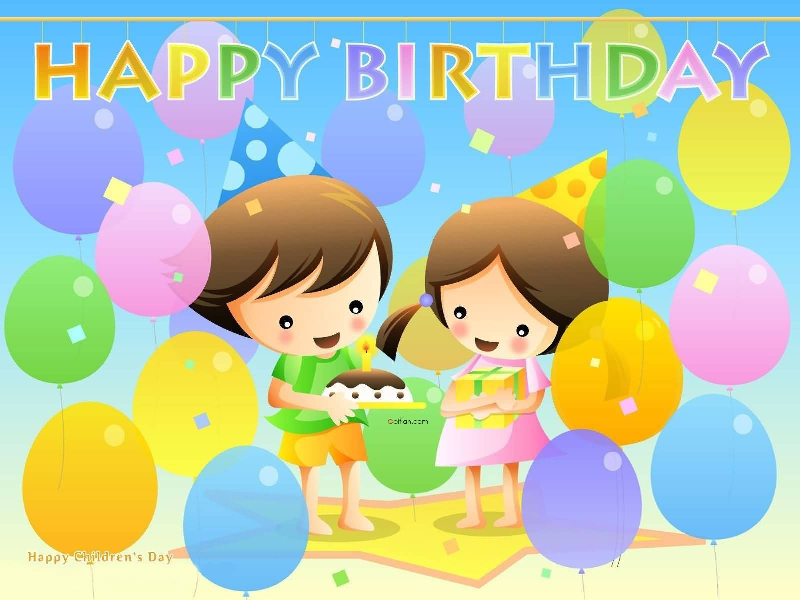 Best ideas about Happy Birthday Wishes For Kids . Save or Pin 60 Famous Birthday Wishes For Kids – Beautiful Short Now.