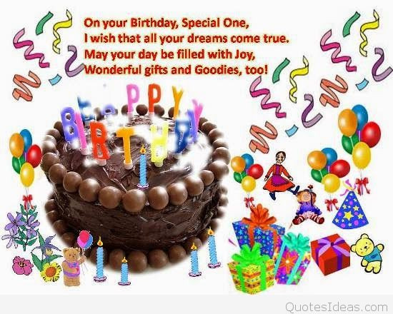 Best ideas about Happy Birthday Wishes For Kids . Save or Pin New Happy birthday wishes for kids with quotes wallpapers Now.