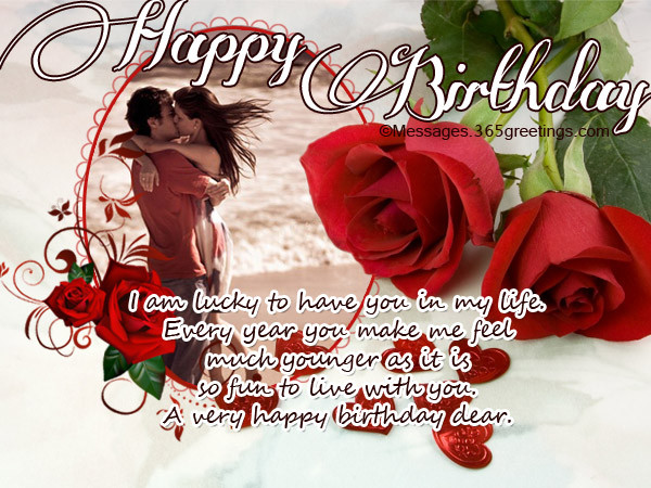 Best ideas about Happy Birthday Wishes For Lover . Save or Pin Birthday Wishes For Lover 365greetings Now.
