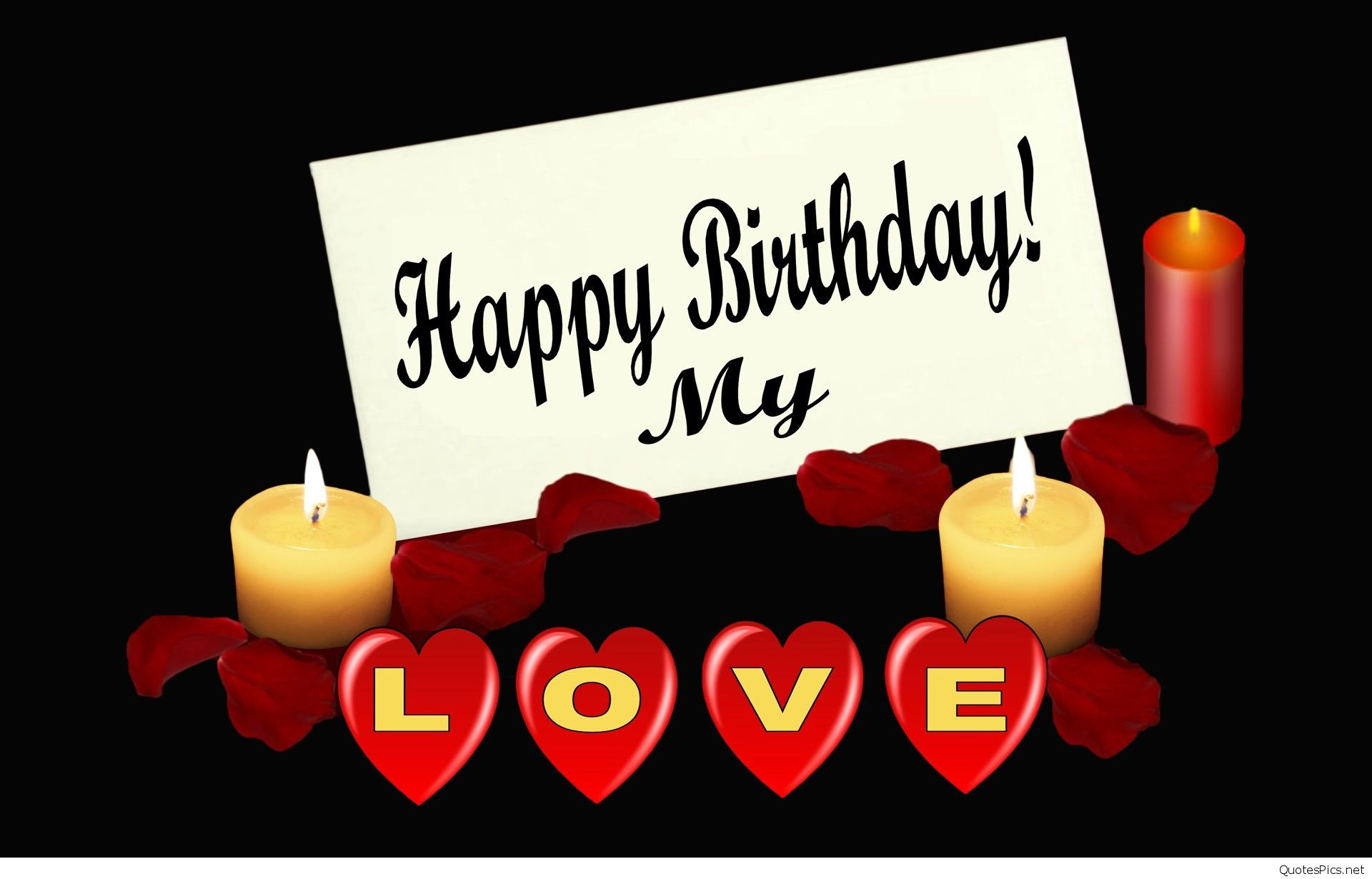 Best ideas about Happy Birthday Wishes For Lover . Save or Pin Happy birthday my love cards & photos 2016 2017 Now.