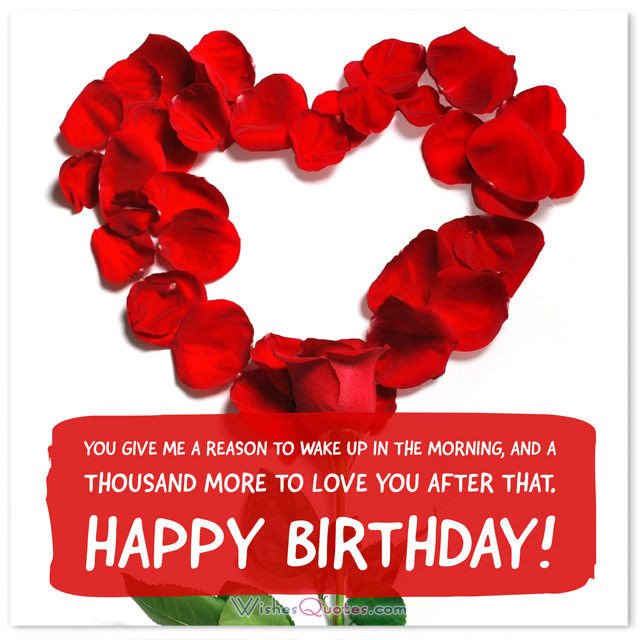 Best ideas about Happy Birthday Wishes For Lover . Save or Pin Birthday Love Messages for your Beloved es which they Now.