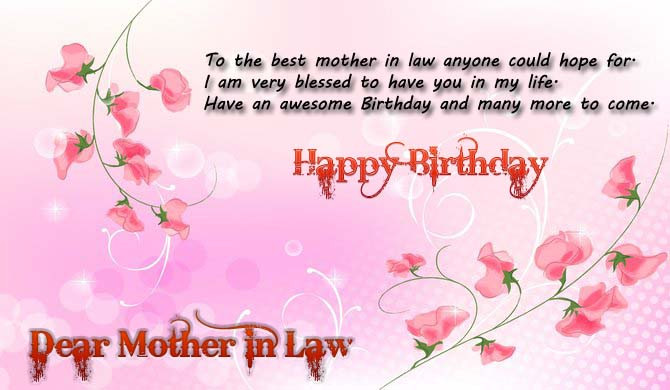 Best ideas about Happy Birthday Wishes For Mother In Law . Save or Pin Happy Birthday Quotes for Mom in Law Now.