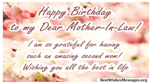 Best ideas about Happy Birthday Wishes For Mother In Law . Save or Pin 100 Happy Birthday Wishes Messages Quotes for Mother Now.