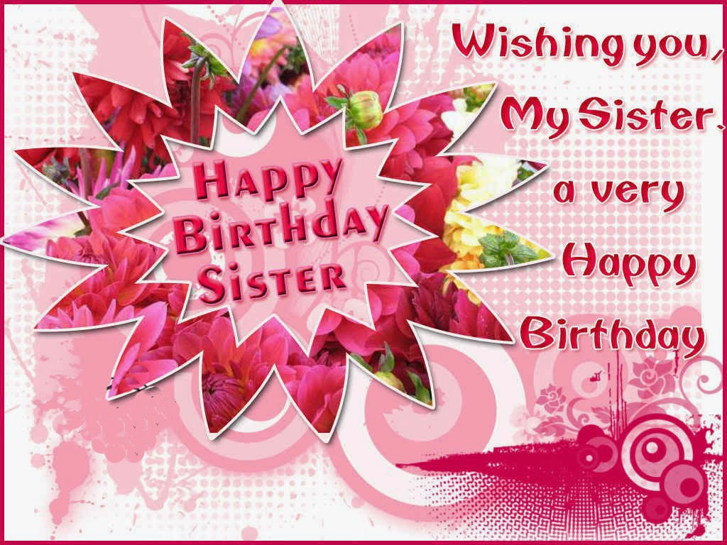Best ideas about Happy Birthday Wishes For Sister . Save or Pin Status Happy Birthday Quotes Greetings Status Now.