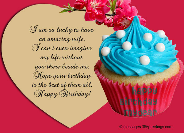 Best ideas about Happy Birthday Wishes For Wife . Save or Pin Birthday Wishes for Wife 365greetings Now.