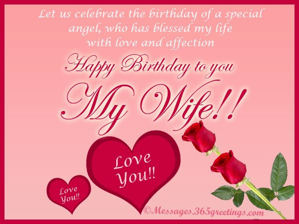Best ideas about Happy Birthday Wishes For Wife . Save or Pin All wishes message Greeting card and Tex Message Happy Now.