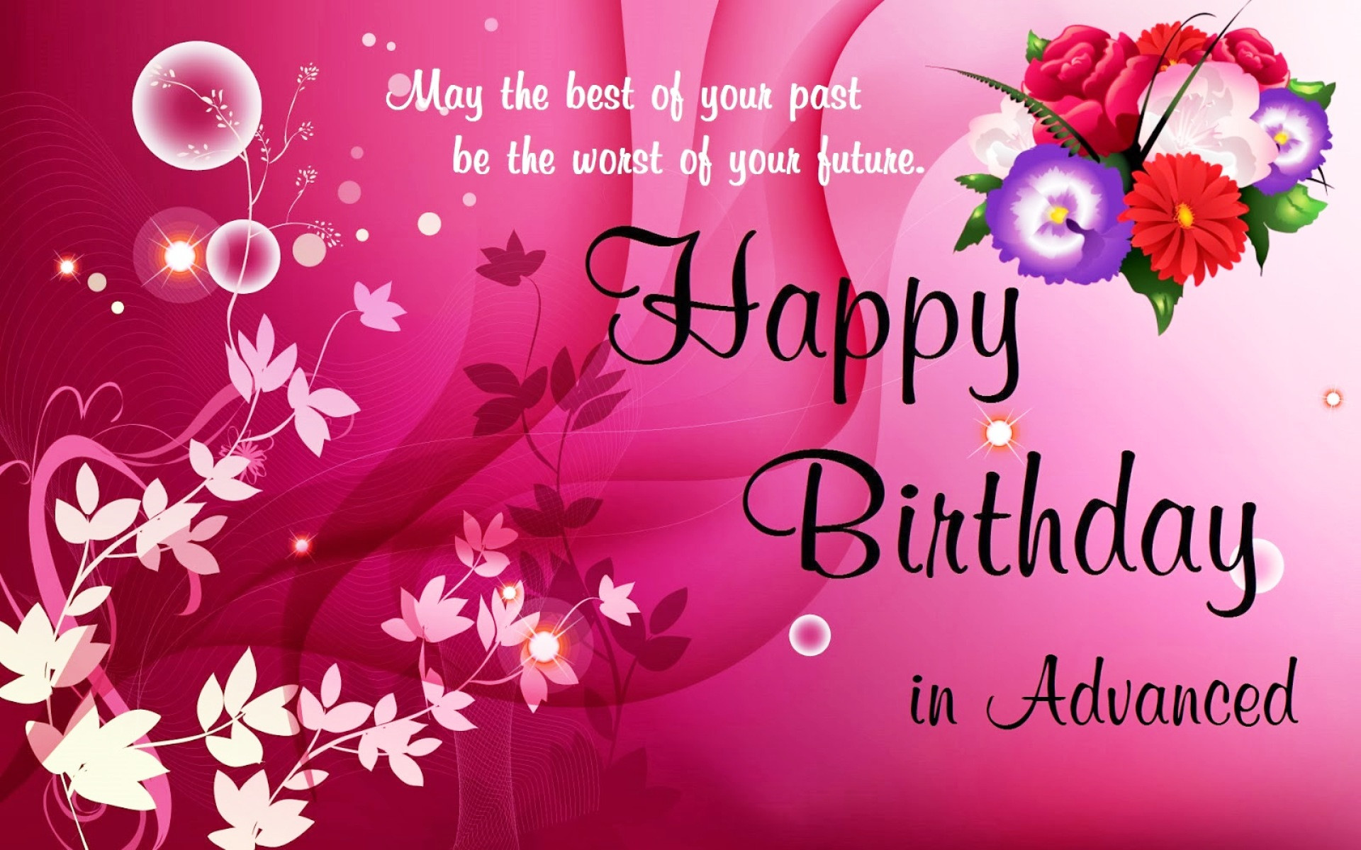 Best ideas about Happy Birthday Wishes Images . Save or Pin Happy Birthday Wallpaper HD Now.