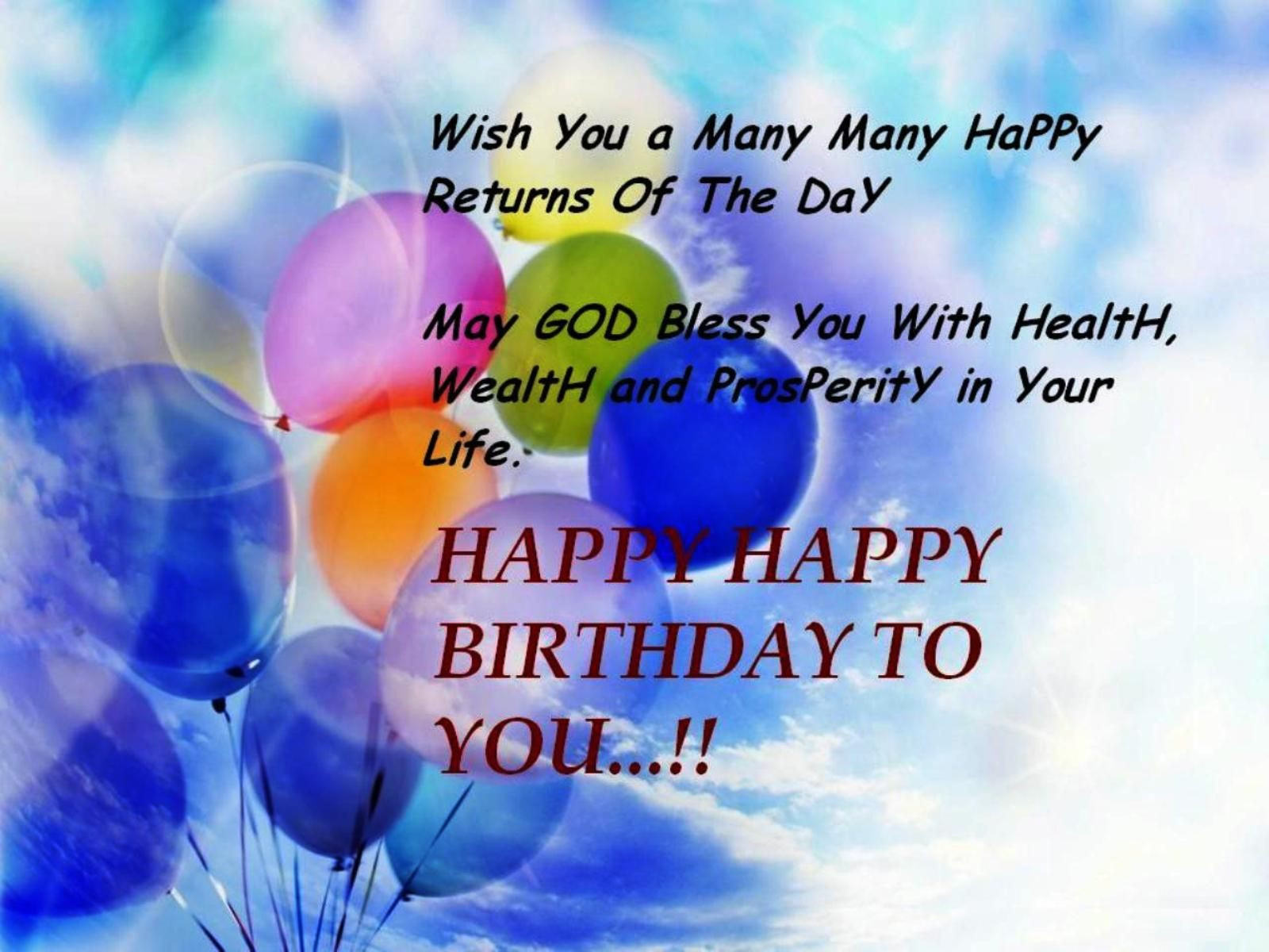 Best ideas about Happy Birthday Wishes Images . Save or Pin Happy Birthday Wishes Quotes – Birthday Wishes Greetings Now.