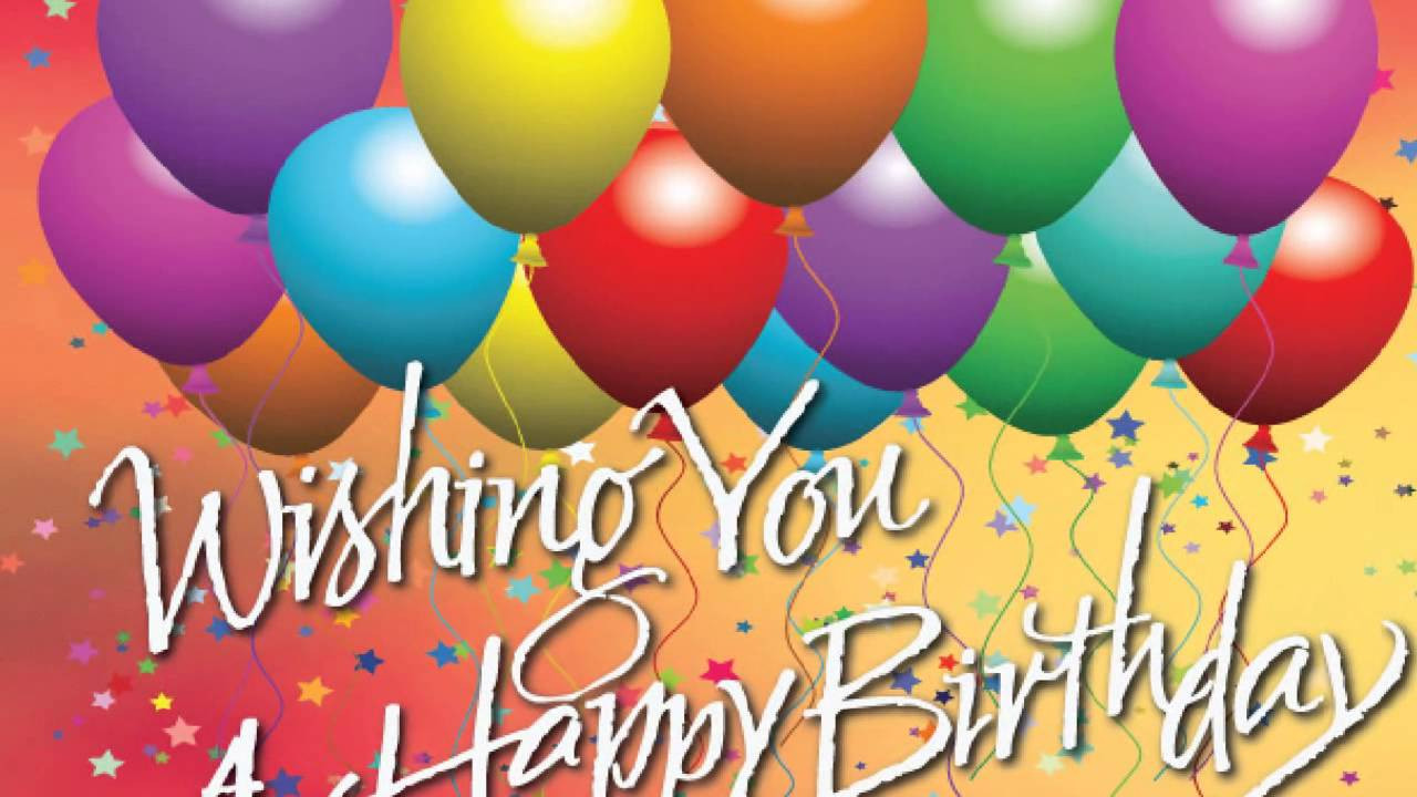 Best ideas about Happy Birthday Wishes Pic . Save or Pin The 100 Happy Birthday Wishes Now.