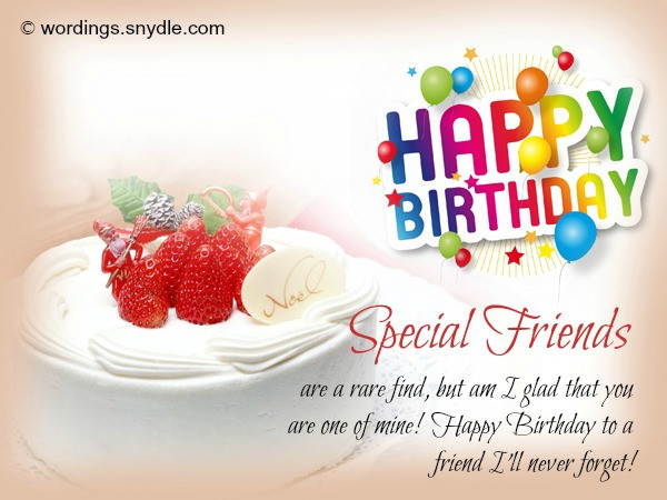 Best ideas about Happy Birthday Wishes To A Good Friend . Save or Pin Best 50 Birthday Wishes for a Friend Wordings and Messages Now.