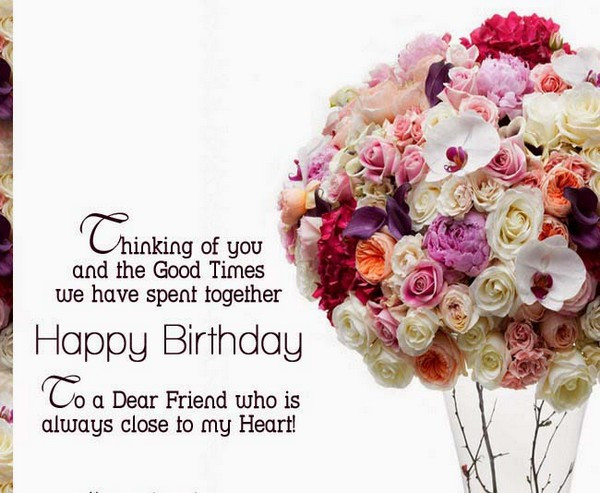 Best ideas about Happy Birthday Wishes To A Good Friend . Save or Pin 72 Happy Birthday Wishes for Friend with Good Now.
