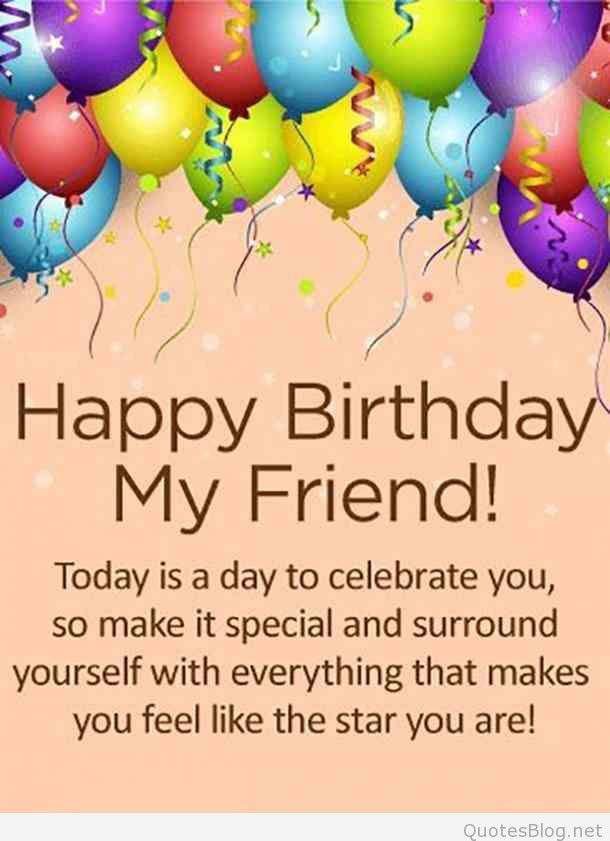 Best ideas about Happy Birthday Wishes To A Good Friend . Save or Pin Happy Birthday My Friend Birthday Friend SMS Now.