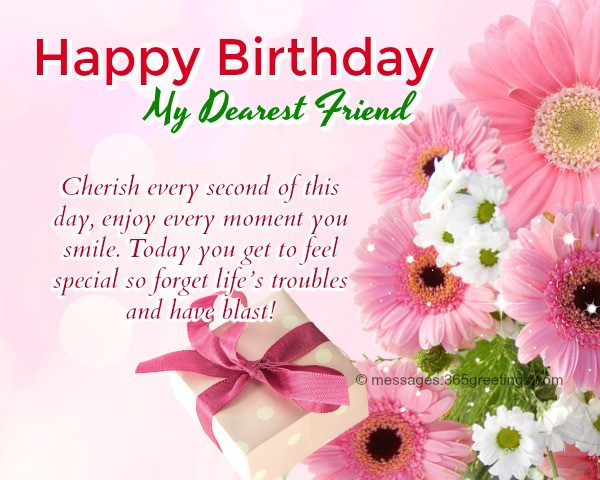 Best ideas about Happy Birthday Wishes To A Good Friend . Save or Pin Happy Birthday Wishes For Friends 365greetings Now.