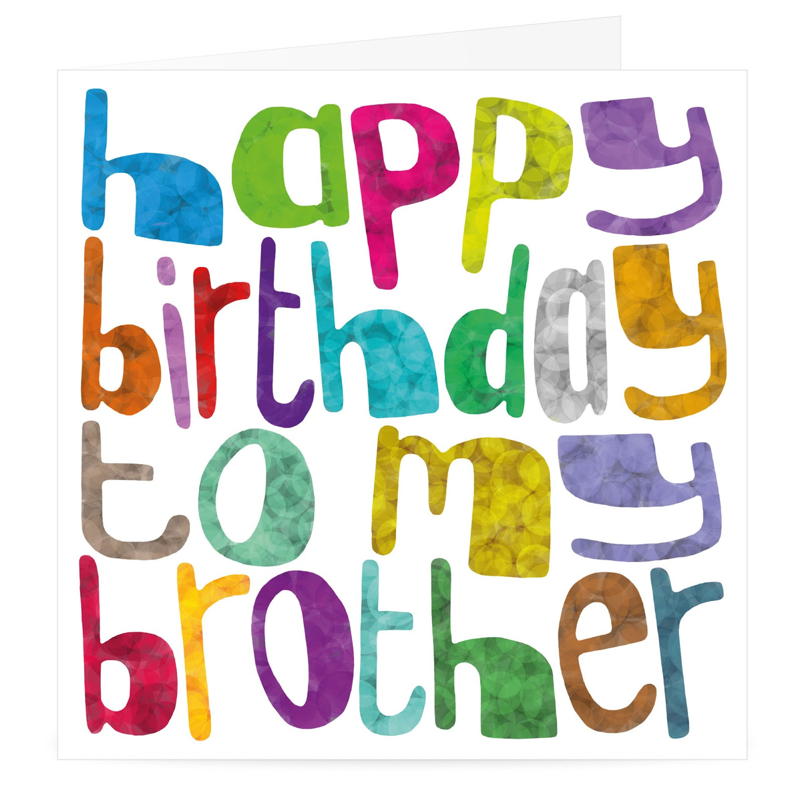 Best ideas about Happy Birthday Wishes To My Brother . Save or Pin HAPPY BIRTHDAY BROTHER birthday for brother brother Now.