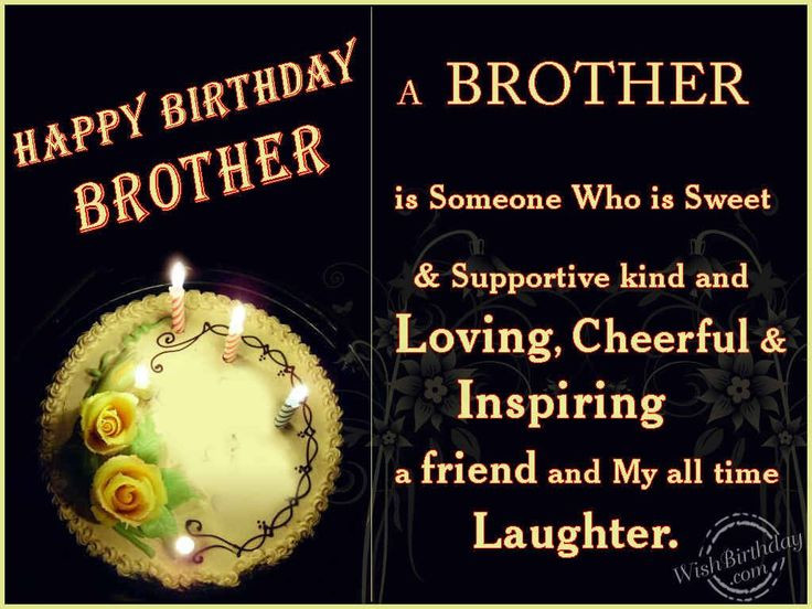 Best ideas about Happy Birthday Wishes To My Brother . Save or Pin happy birthday wishes for gorgeous brother Now.