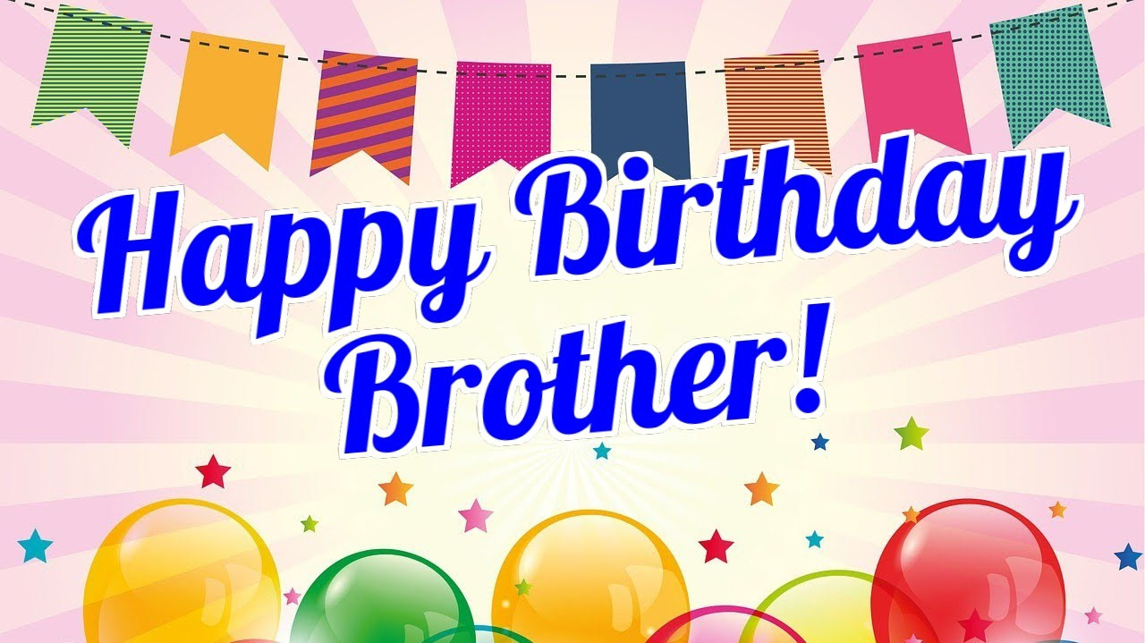 Best ideas about Happy Birthday Wishes To My Brother . Save or Pin Happy Birthday Brother Now.