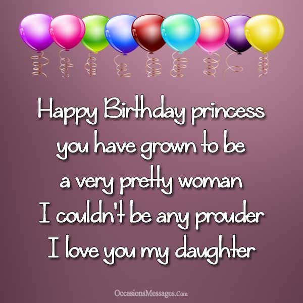 Best ideas about Happy Birthday Wishes To My Daughter . Save or Pin Happy Birthday Wishes for Daughter Occasions Messages Now.