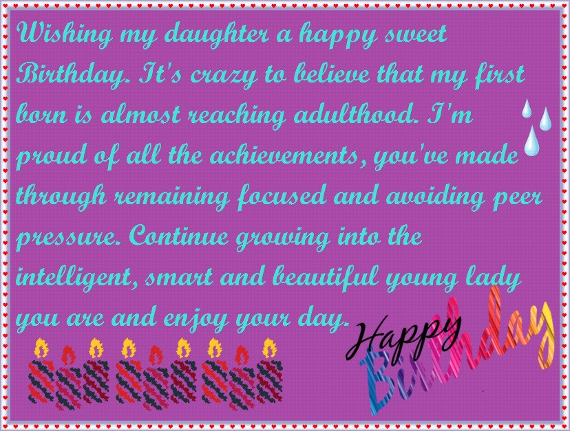 Best ideas about Happy Birthday Wishes To My Daughter . Save or Pin Mother to Daughter Birthday Wishes Now.