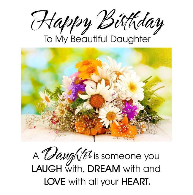 Best ideas about Happy Birthday Wishes To My Daughter . Save or Pin Inspirational Happy Birthday Wishes To My Beautiful Now.
