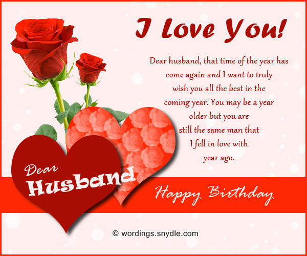 Best ideas about Happy Birthday Wishes To My Husband . Save or Pin Birthday Wishes for Husband Husband Birthday Messages and Now.