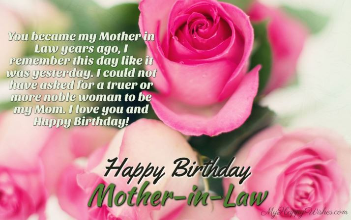 Best ideas about Happy Birthday Wishes To My Mother In Law . Save or Pin Birthday Wishes and Messages for Your Mother in Law Now.