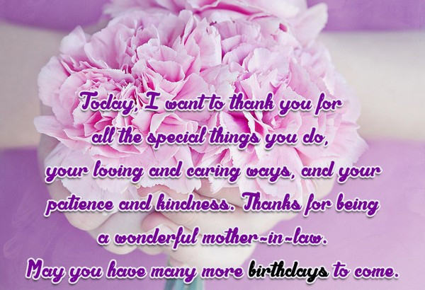 Best ideas about Happy Birthday Wishes To My Mother In Law . Save or Pin 47 Happy Birthday Mother in Law Quotes My Happy Birthday Now.