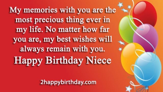 Best ideas about Happy Birthday Wishes To My Niece . Save or Pin 25 Happy Birthday Niece Sweet Quotes & Messages Now.