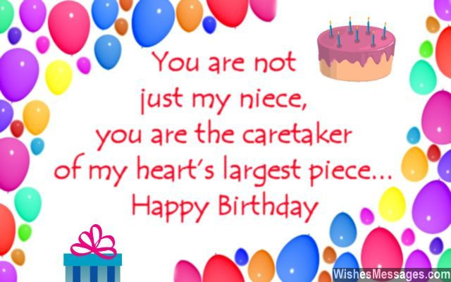 Best ideas about Happy Birthday Wishes To My Niece . Save or Pin Birthday Wishes for Niece – WishesMessages Now.