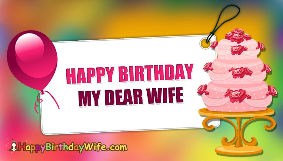 Best ideas about Happy Birthday Wishes To Wife . Save or Pin Happy Birthday Wishes Wife HappyBirthdayWife Now.