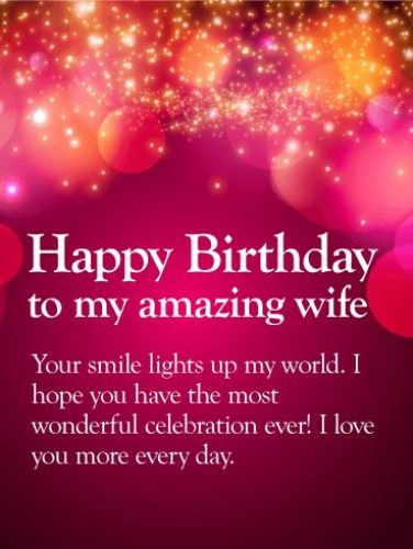 Best ideas about Happy Birthday Wishes To Wife . Save or Pin Happy birthday wife images Now.