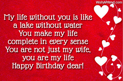 Best ideas about Happy Birthday Wishes To Wife . Save or Pin Birthday Wishes For Wife Page 3 Now.