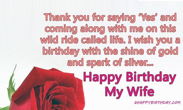 Best ideas about Happy Birthday Wishes To Wife . Save or Pin TOP 110 Sweet Happy Birthday Wishes for Family & Friends Now.