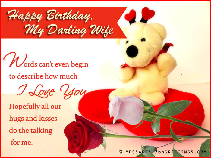 Best ideas about Happy Birthday Wishes To Wife . Save or Pin happy birthday wishes for wife 365greetings Now.