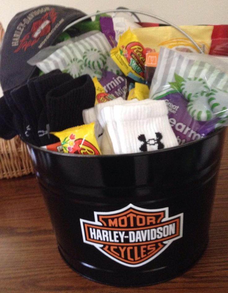 Best ideas about Harley Davidson Gift Ideas . Save or Pin Man s Easter basket Harley Davidson Now.