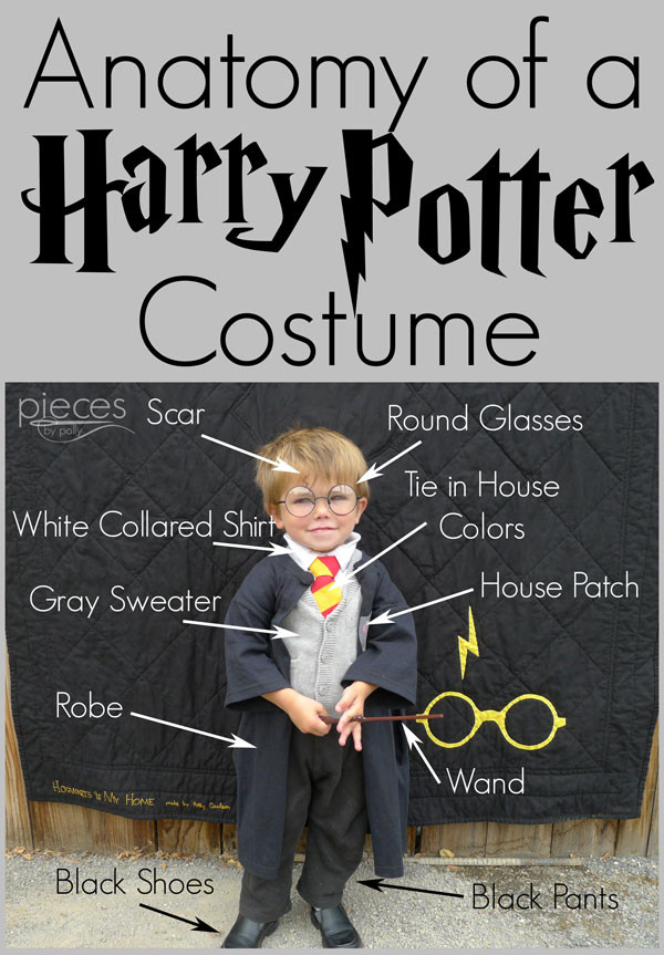 Best ideas about Harry Potter Costume DIY . Save or Pin Pieces by Polly DIY Harry Potter Costume Hogwarts Now.