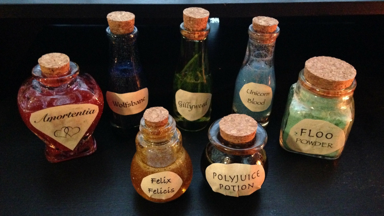 Best ideas about Harry Potter Potions DIY . Save or Pin Making DIY Harry Potter Potions Bottles — Just Being Jayla Now.
