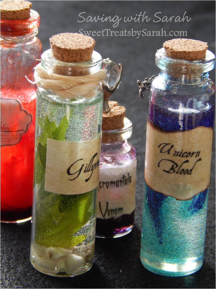 Best ideas about Harry Potter Potions DIY . Save or Pin Sweet Treats by Sarah Harry Potter Potion Bottles DIY Now.