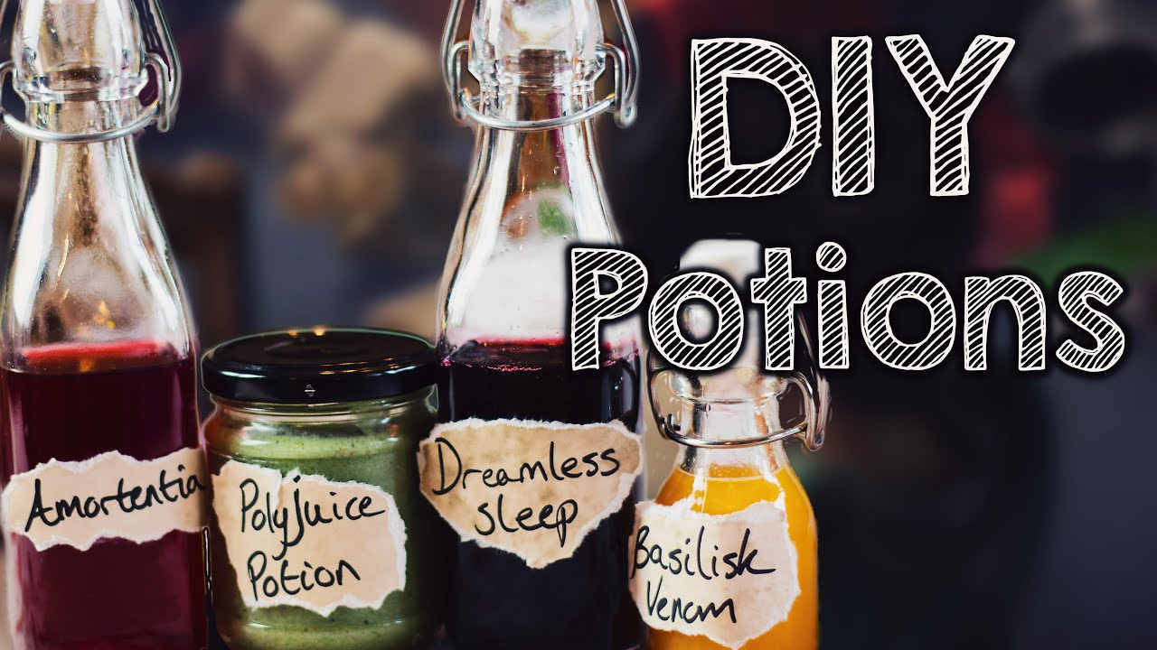 Best ideas about Harry Potter Potions DIY . Save or Pin DIY Harry Potter Potions edible Now.