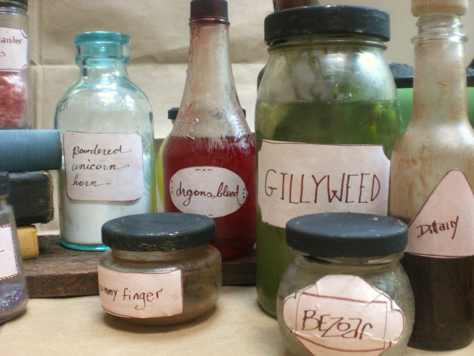Best ideas about Harry Potter Potions DIY . Save or Pin Warrior Girl Rowena Murillo DIY Harry Potter Potions Decor Now.