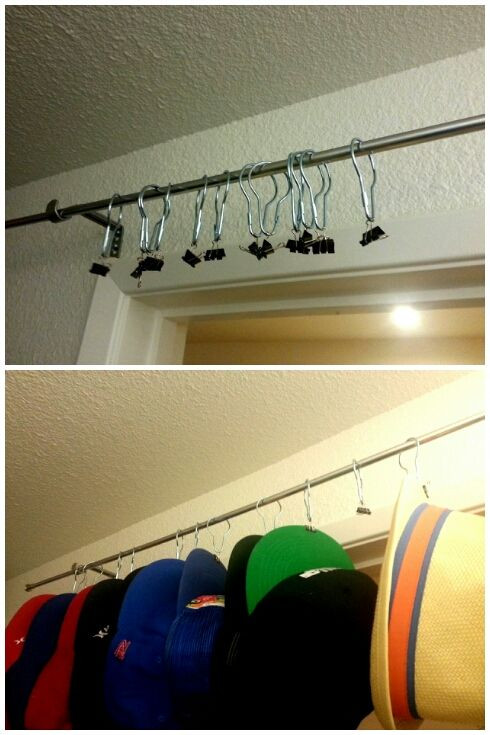 Best ideas about Hat Organizer DIY . Save or Pin 1000 ideas about Baseball Hat Racks on Pinterest Now.