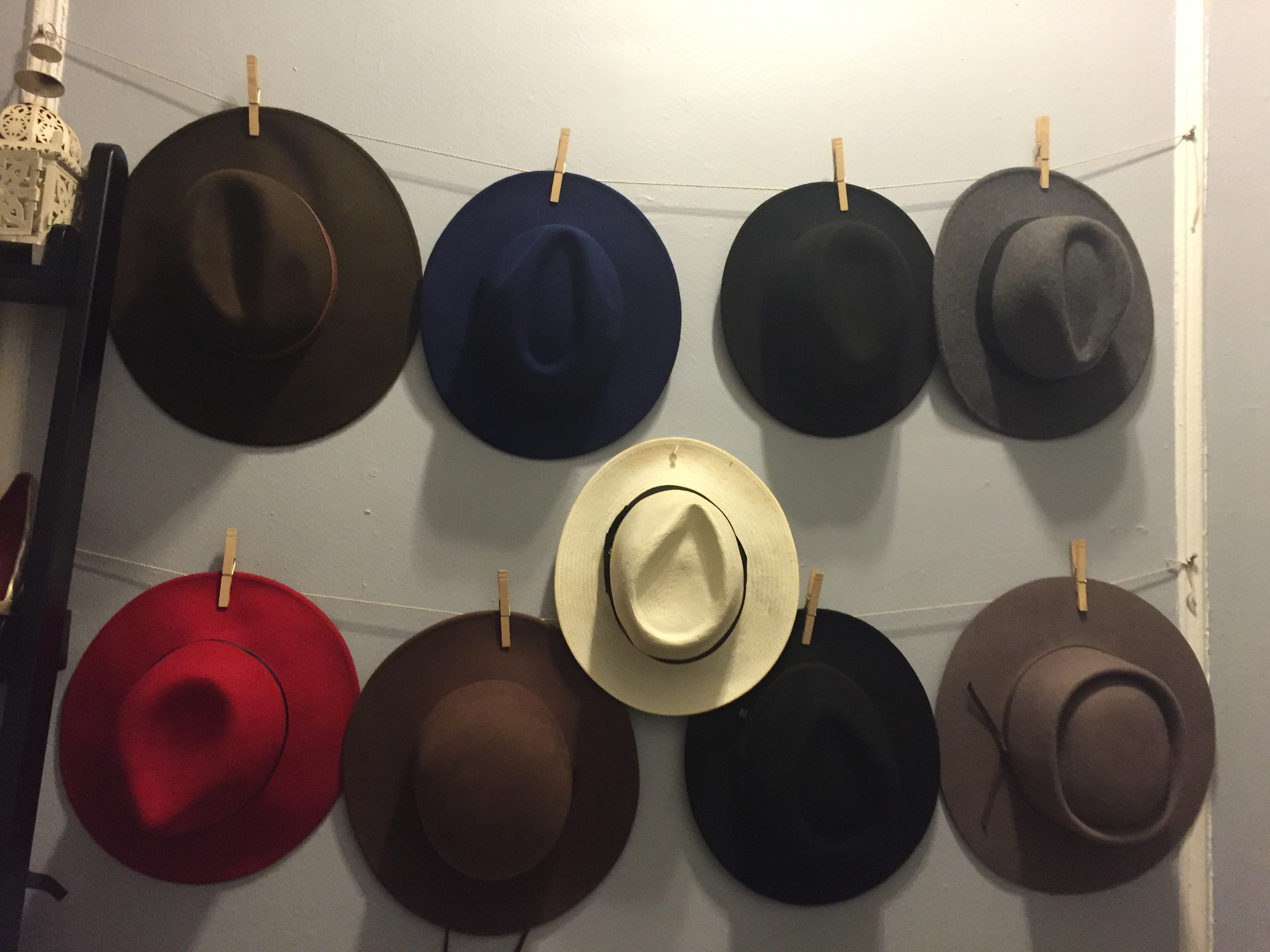 Best ideas about Hat Organizer DIY . Save or Pin Easy way to store your hats Kéla s Kloset Now.