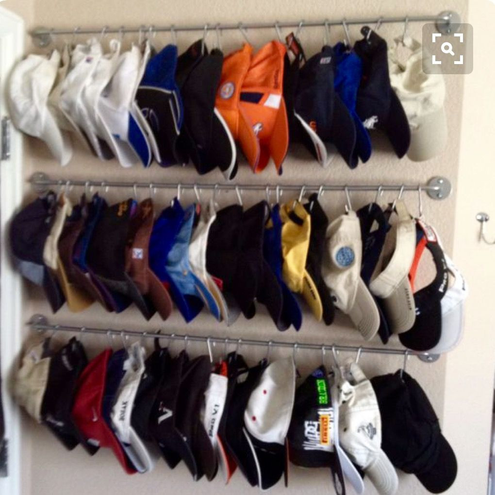 Best ideas about Hat Organizer DIY . Save or Pin Hat Storage Organization Home Organization Now.